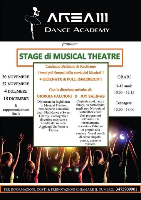 stage di musical