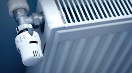 radiator thermostat set to lower than zero