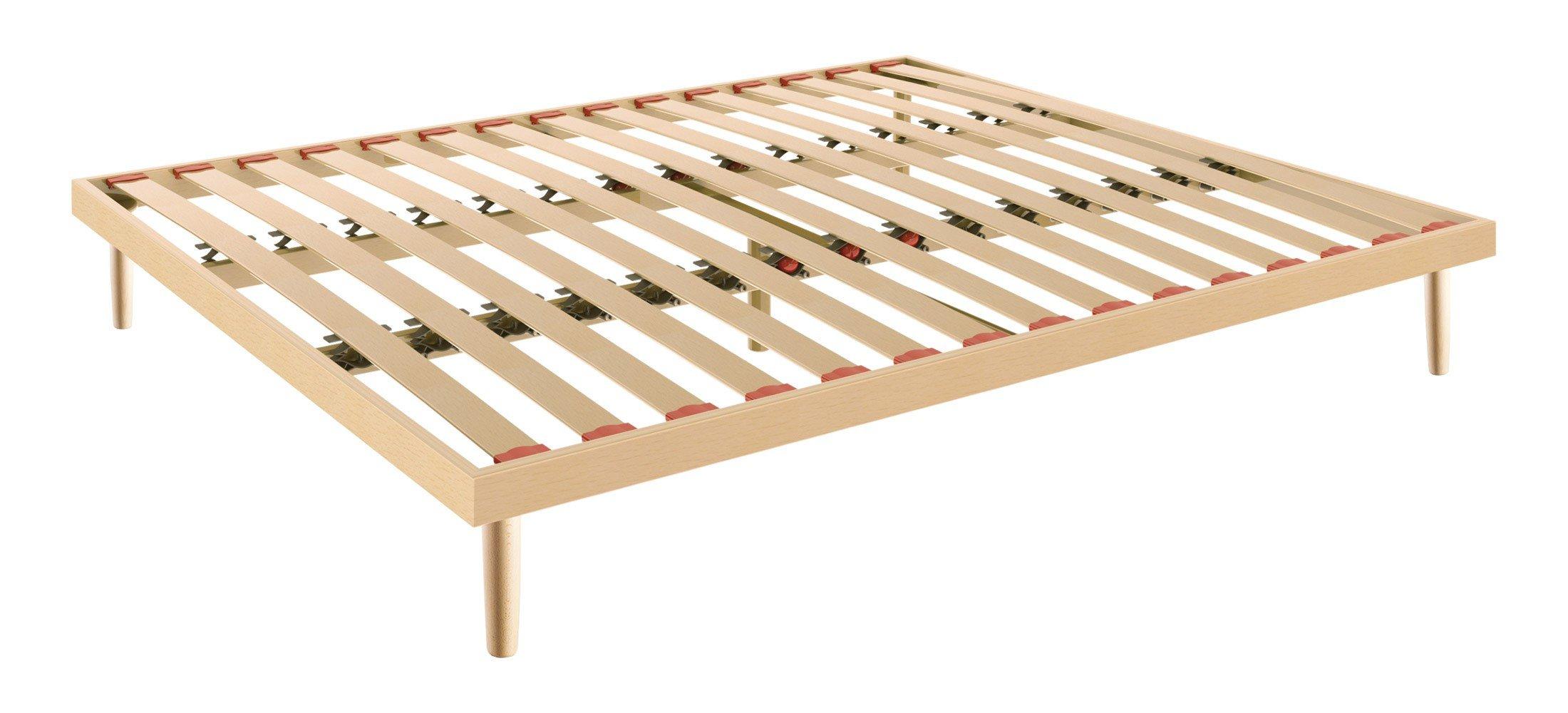 Doghe rialzabili con scompartimento letto inferiore