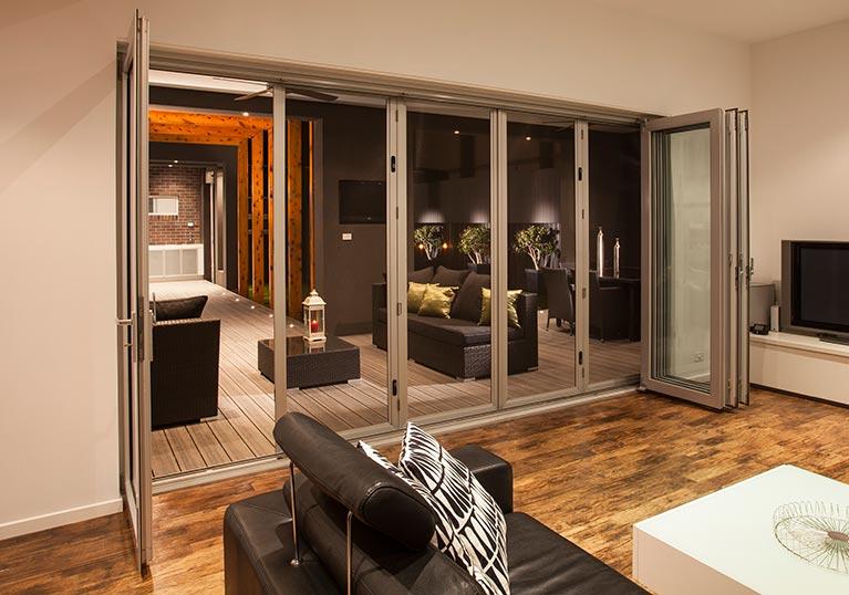 Security folding doors & Security Doors | Campbelltown | Campbelltown Blinds u0026 Awnings Centre