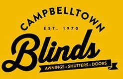 campbelltown blinds and awnings business logo