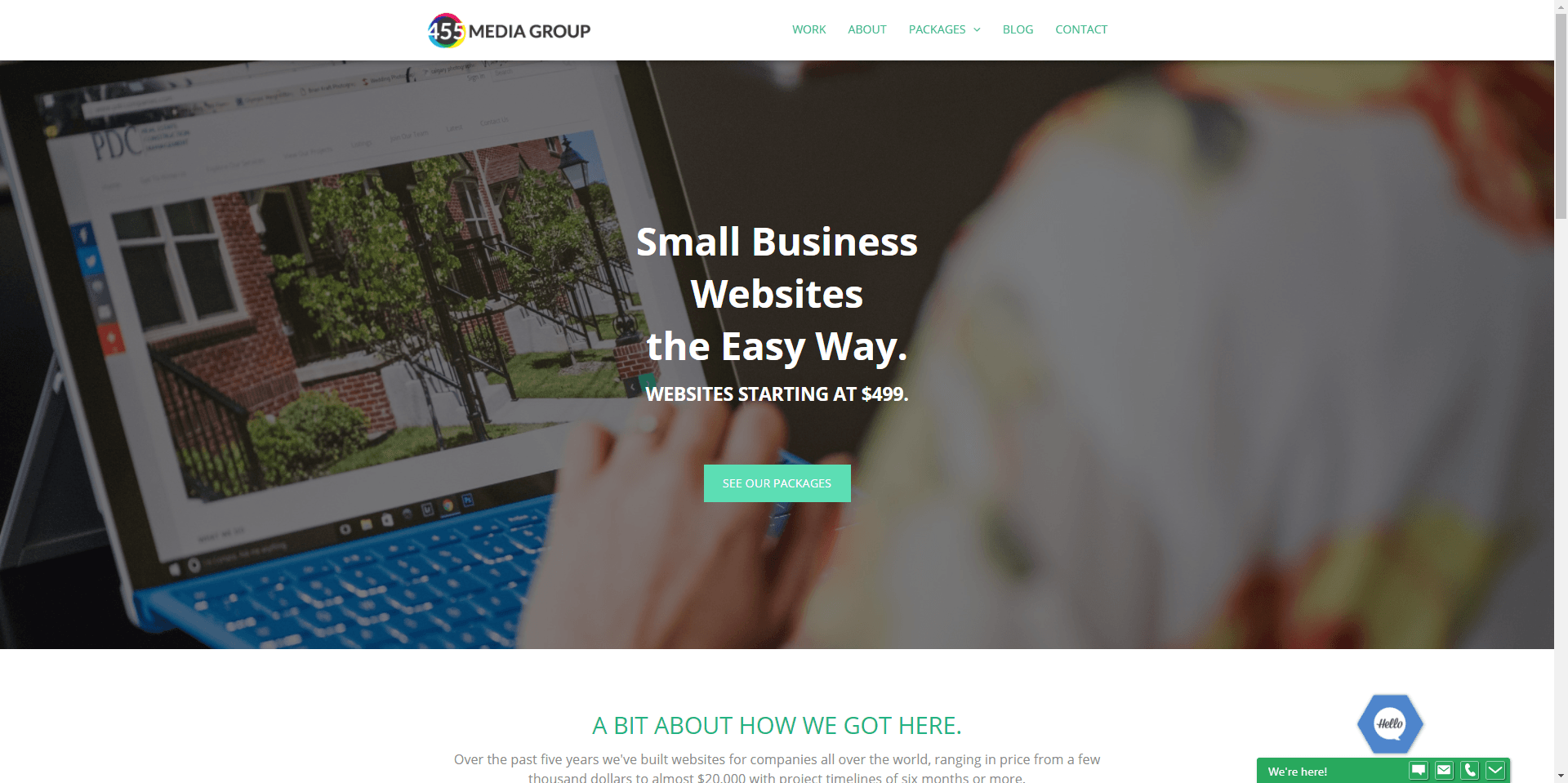 Small Business Website Design Bentonville Ar 455 Media Group