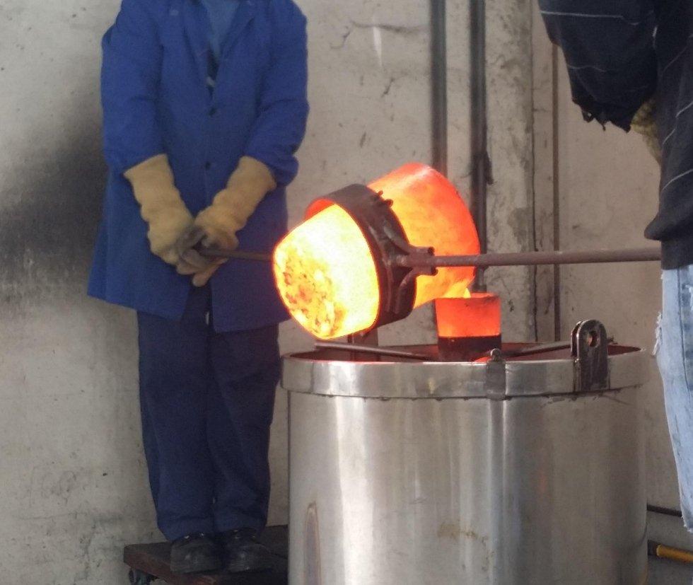LINGOTTO srl - fusione argento