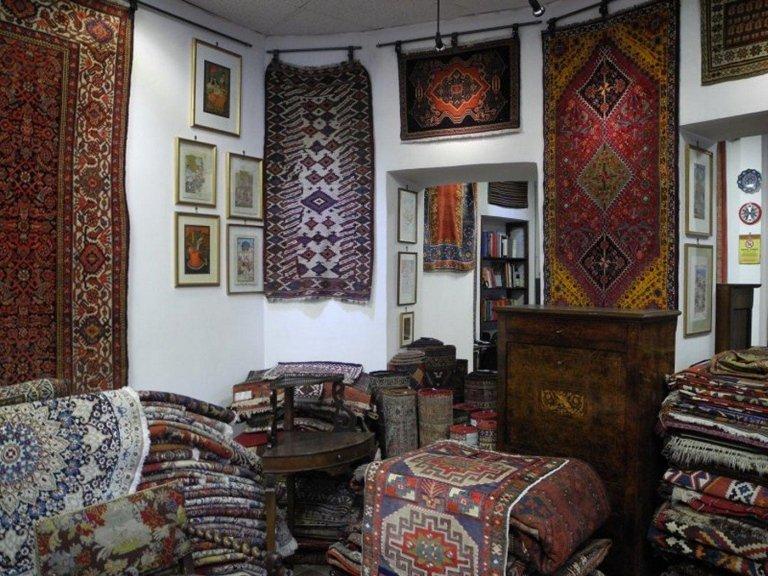 esposizione tappeti persiani
