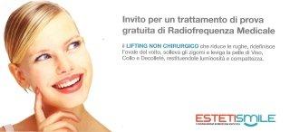 EstetiSmile Rieti, Radiofrequenza medicale rieti, Trattamento di prova medicina estetica rieti