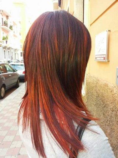 esempio di trattamento colorazione per capelli