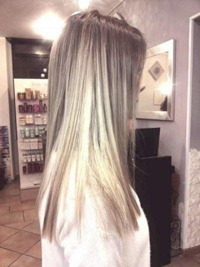 esempio di trattamento shatush per capelli