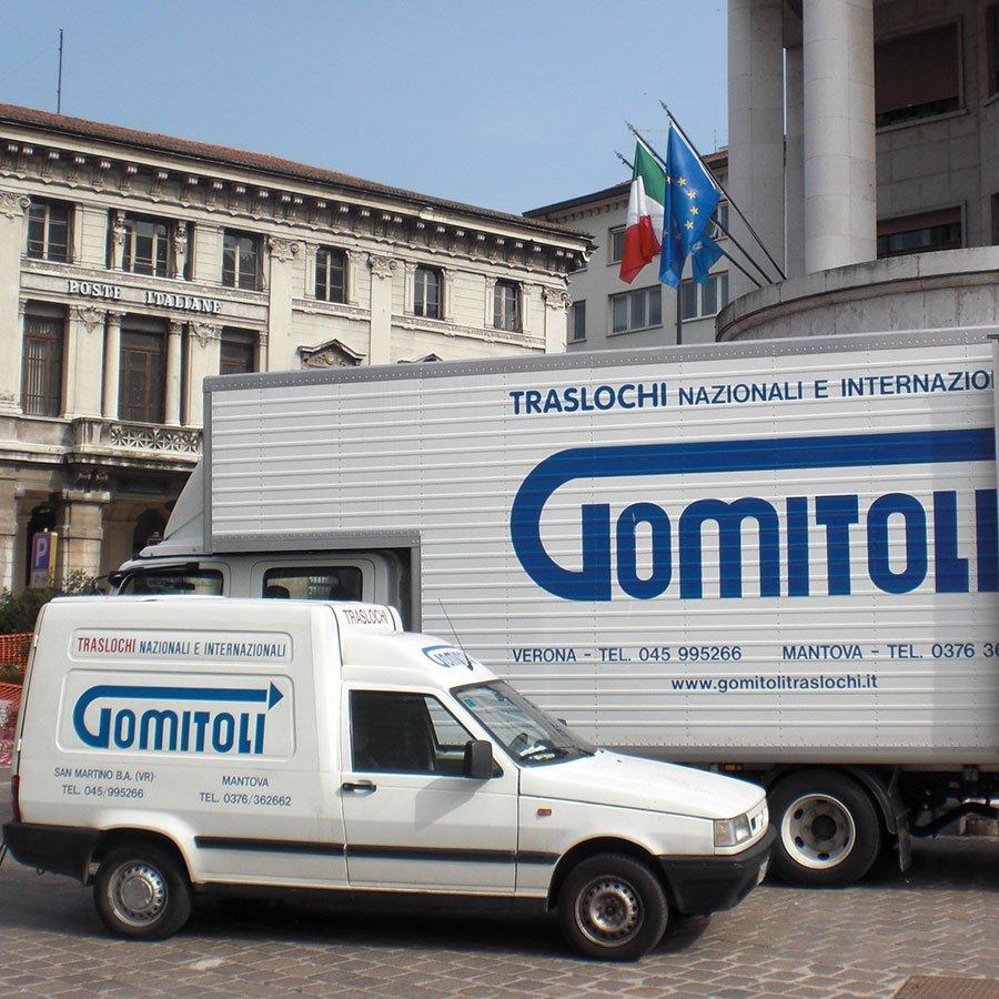 Veicoli per traslochi a marchio Gomitoli