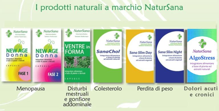 natursana prodotti