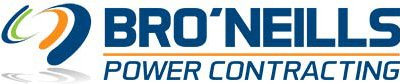 bro neilis power contracting business logo