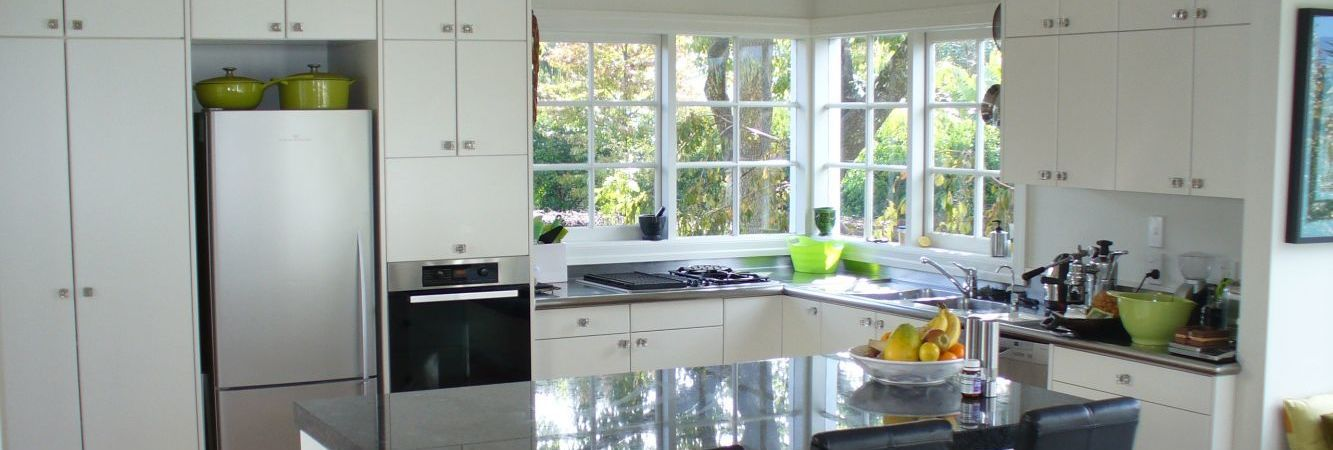Completed kitchen renovation in Auckland