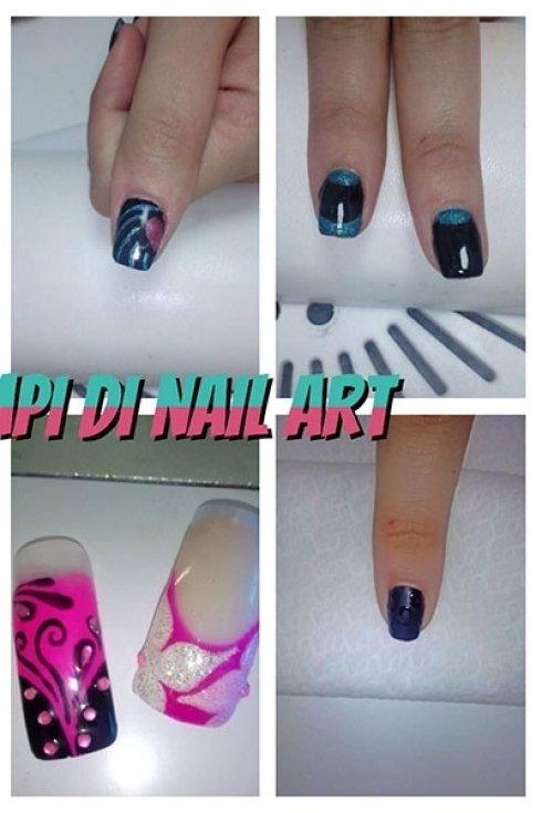 nail art viola