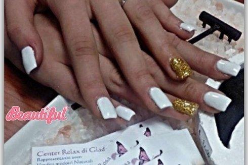 unghie glitterate