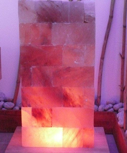 Vendita arredamenti lampade e altri prodotti in sale alla Stanza Del Sale a Imola