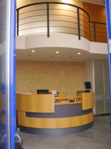 bancone per reception