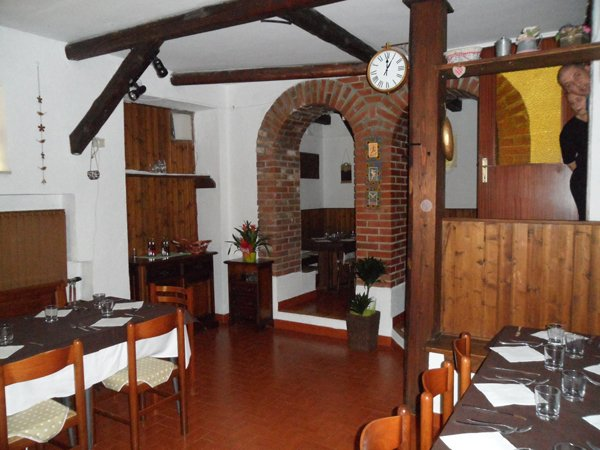 Interni del ristorante Nova Dolina a Trieste