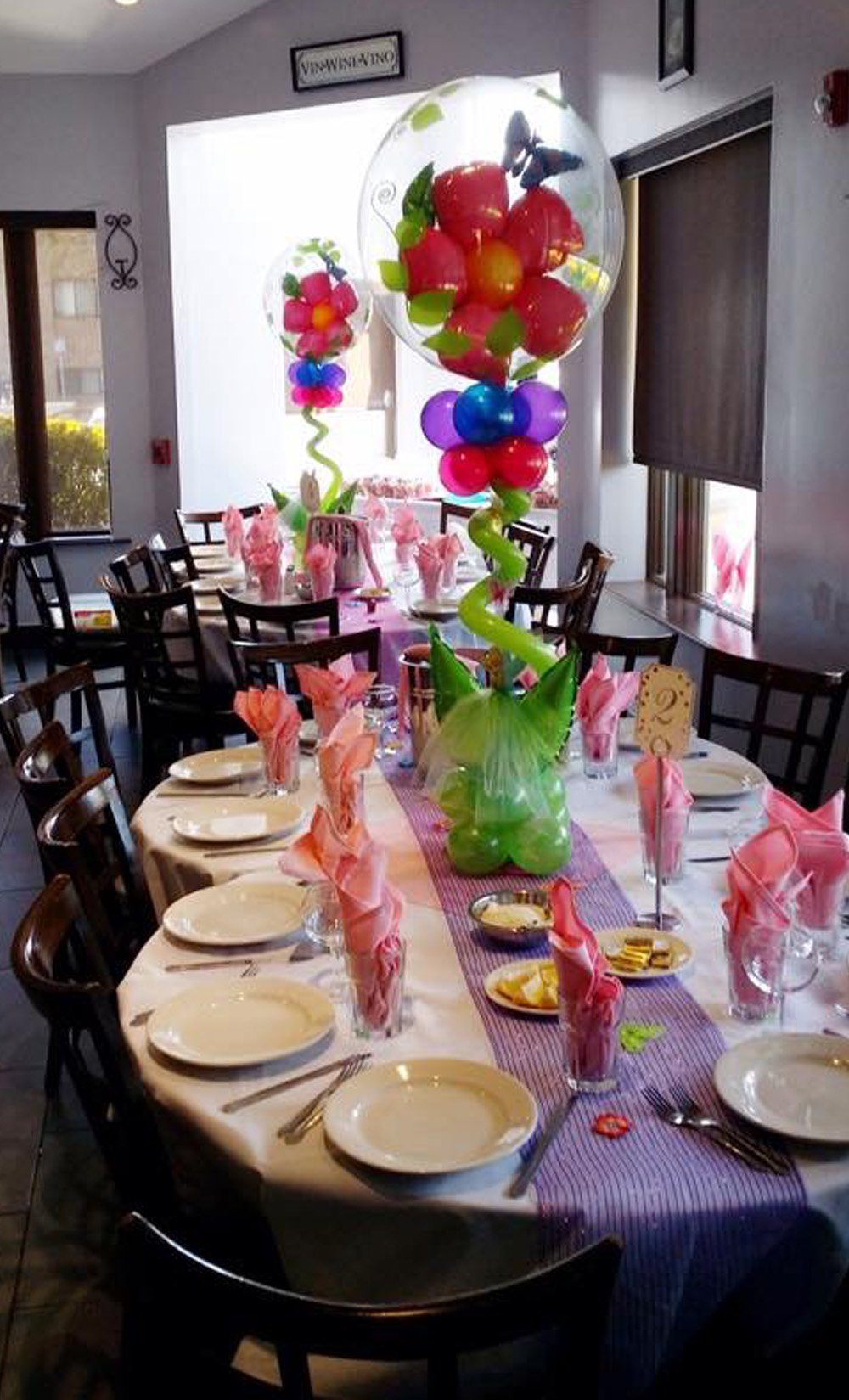 Balloon Centerpieces Long Island NY