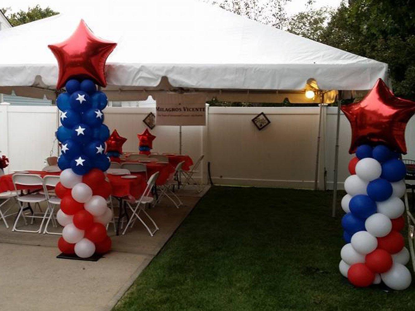 Balloon Columns Long Island NY