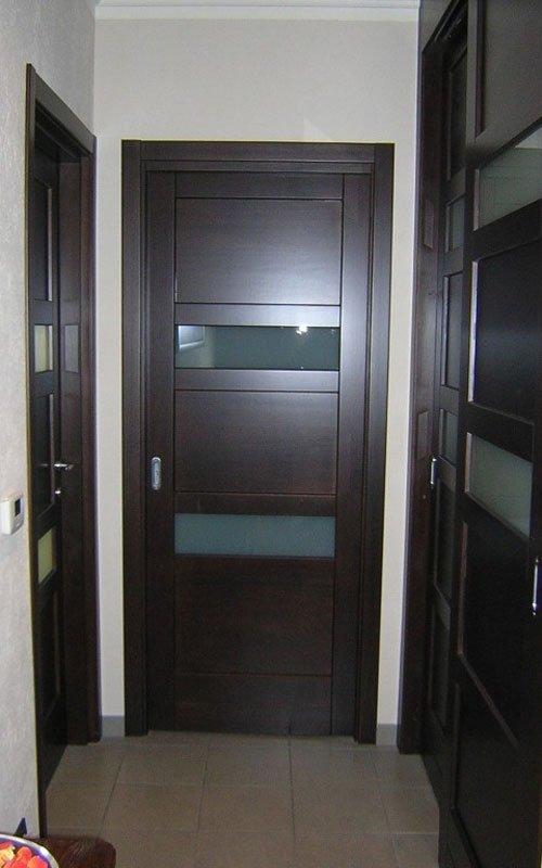 porta interna in wenge