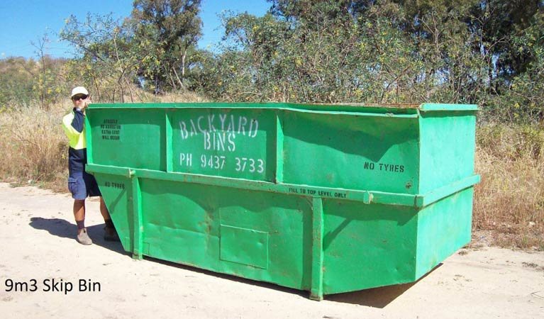 backyard bins sizes 9m3