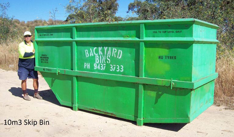 backyard bins sizes 10m3
