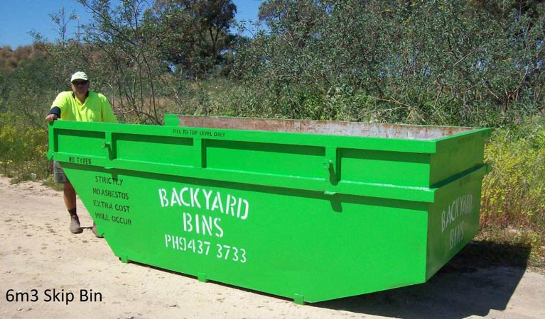 backyard bins sizes 6m3