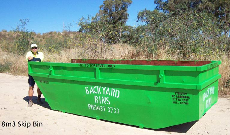 backyard bins sizes 8m3