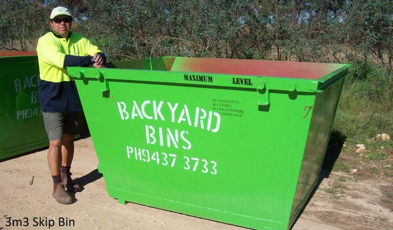 backyard bins sizes 3m3