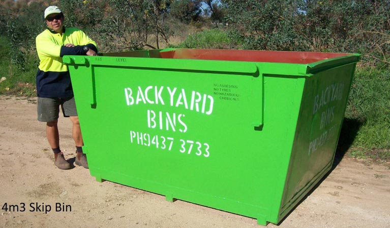 backyard bins sizes 4m3