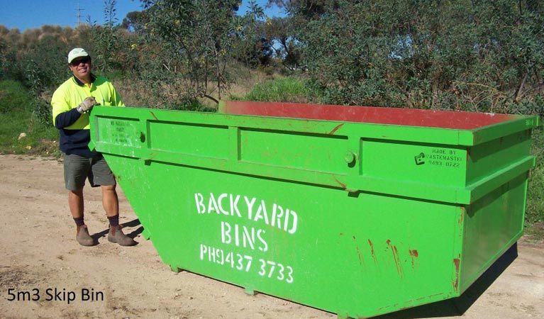 backyard bins sizes 5m3