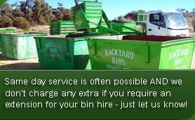Backyard Bins in Perth and Surrounding suburbs