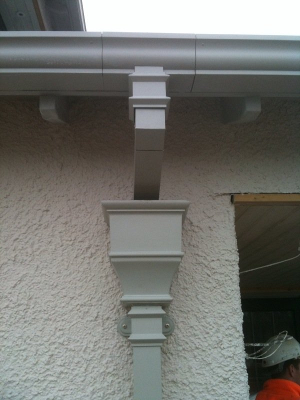 Sectional aluminium guttering experts