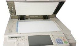 fotocopiatore aperto