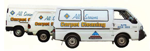 all seasons carpet cleaning and integrated pest management van