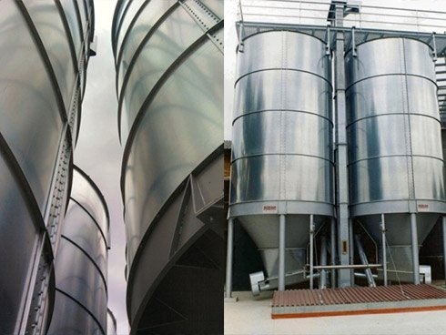 silos di stoccaggio