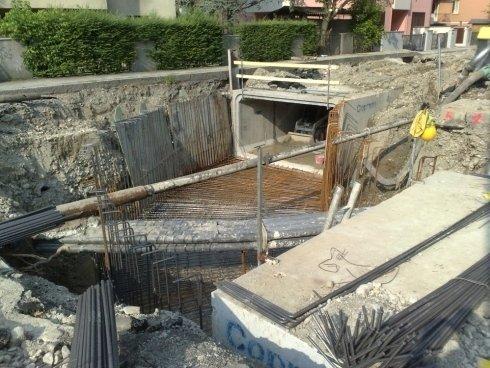 dei lavori di scavo