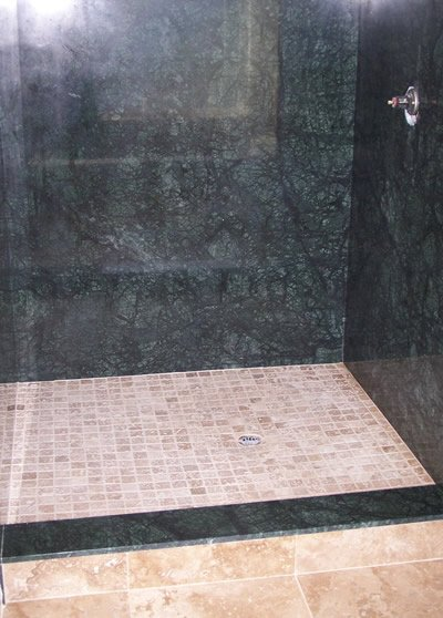 Showers - completed work