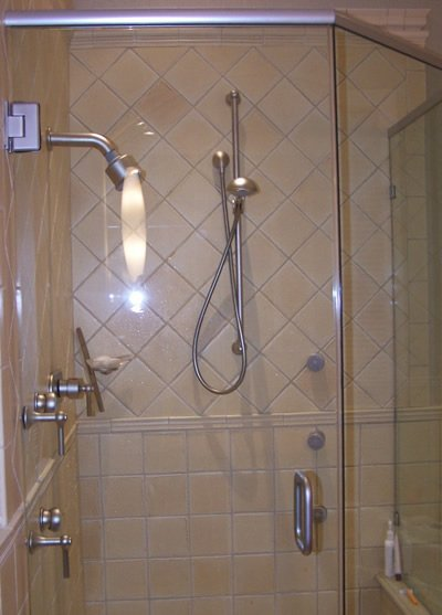 Showers - completed project