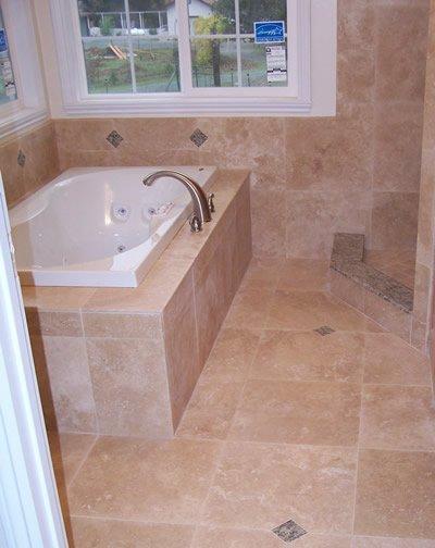 Bathroom tiling task - onsite