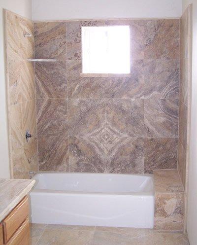 Company's bathroom tiling