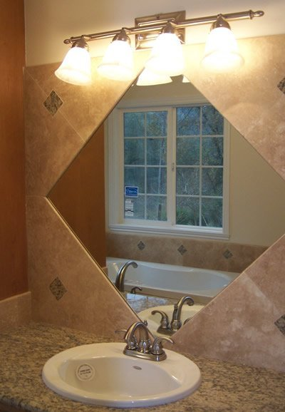 Bathroom tiling task