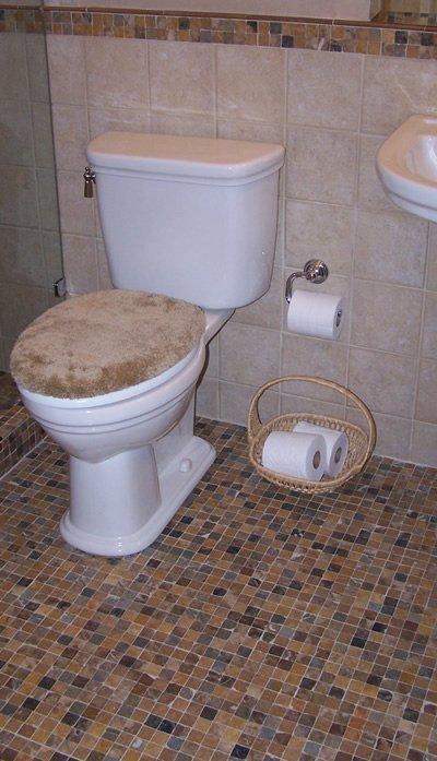 ompany's bathroom tiling work