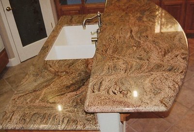 Kitchen counters - our work