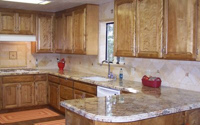 Kitchen counters - previous work