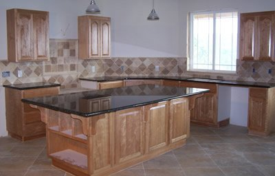 Kitchen counters - completed work