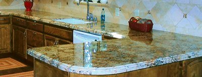 Kitchen counters - completed project