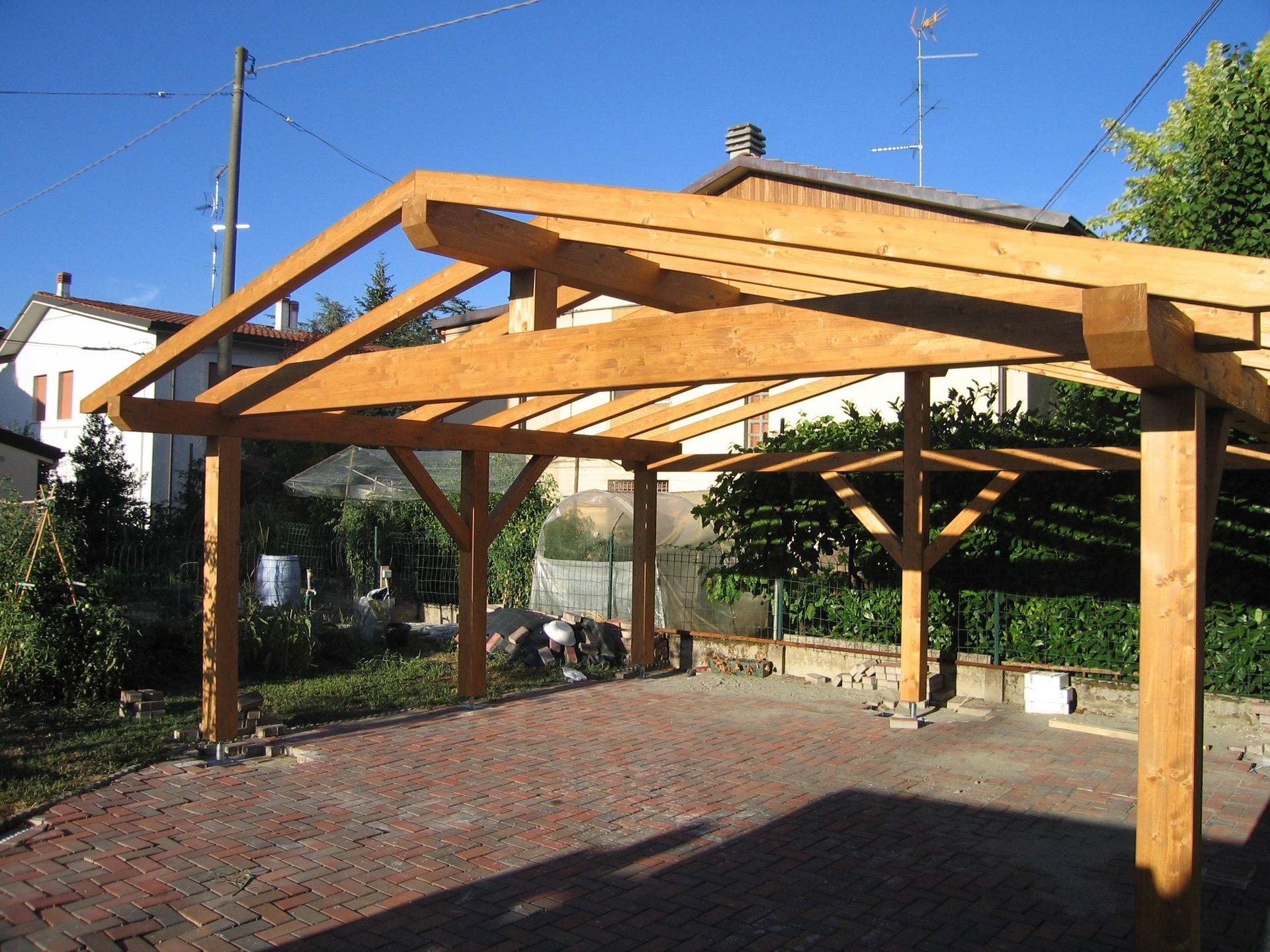 strutture autoportanti legno lamellare