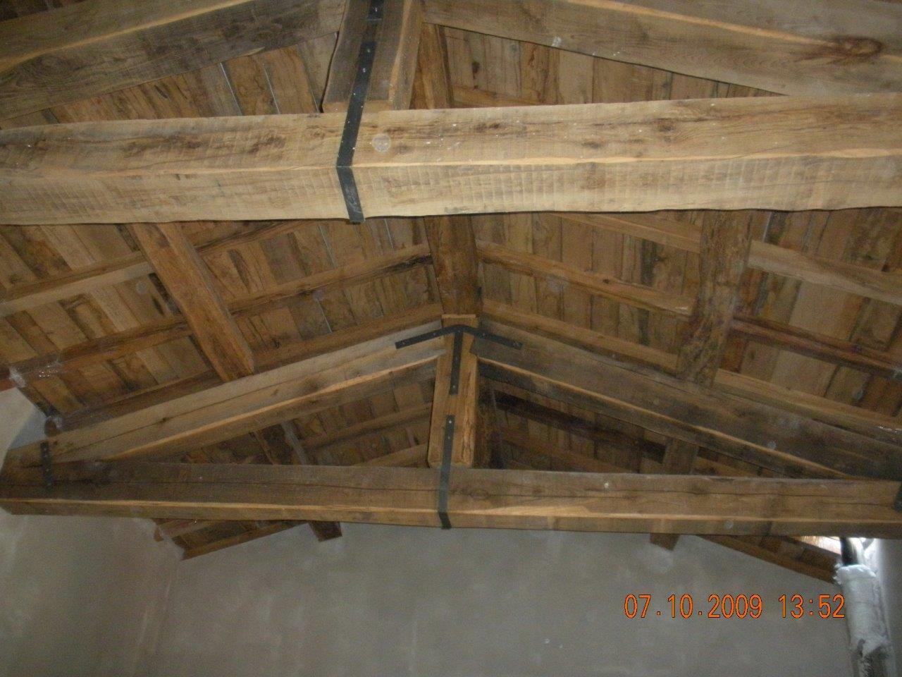 tetti legno antico