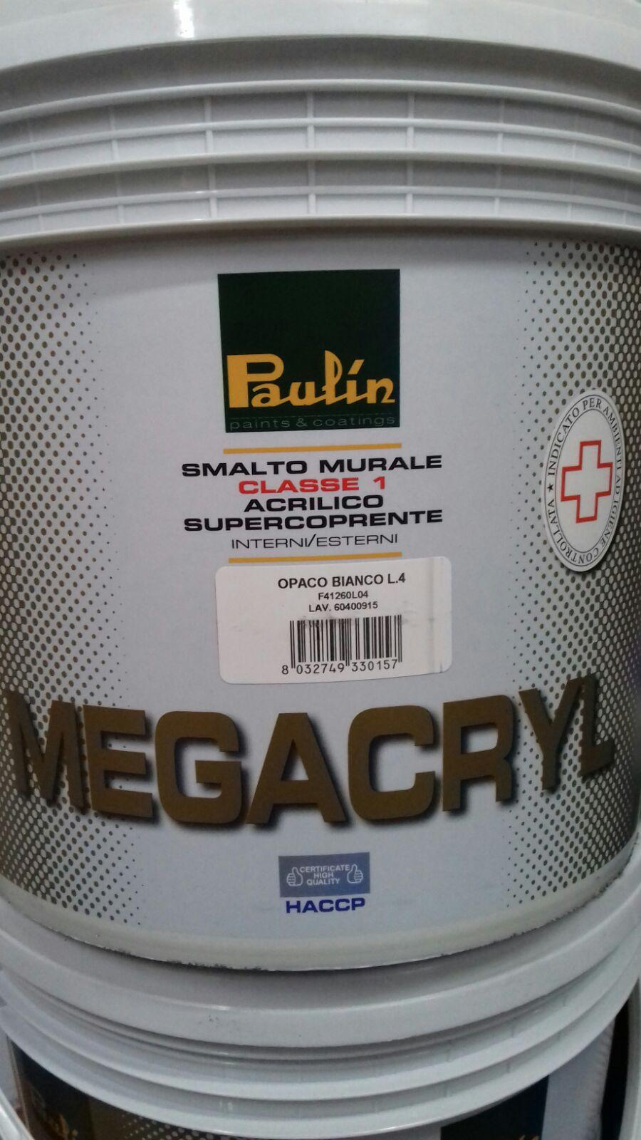 megacryl pittura