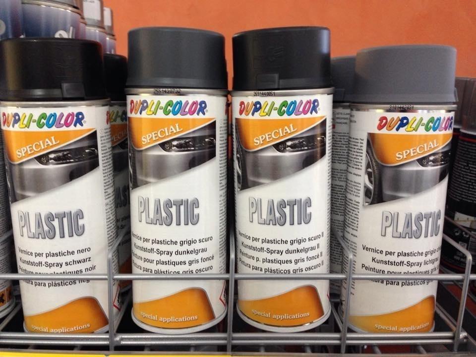 vernice per plastiche